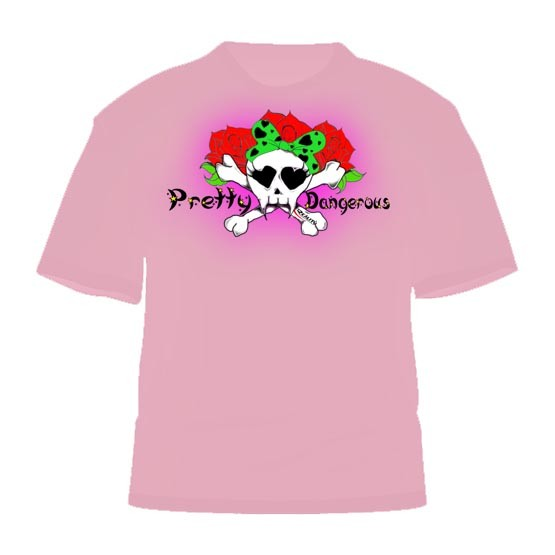 MMA Reality Fightwear Pretty Dangerous Shirt
