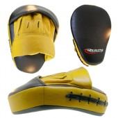 Black and Yellow Reality Training Mitt