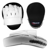 White Reality Training Mitt