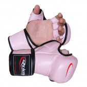 Pink Reality Training Bag Gloves