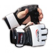 White and Black Reality Training Bag Gloves