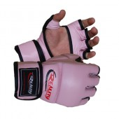 Pink and Black Reality Training Bag Gloves