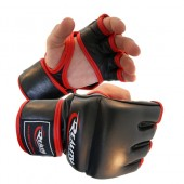 Red and Black Reality Training Bag Gloves