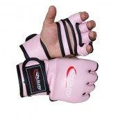 Pink Reality Training Bag Gloves without thumb