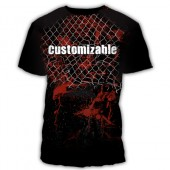 MMA Customized Fightwear with cage
