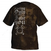 RINGSIDE ONLY THE BELL CAN SAVE YOU T- SHIRT
