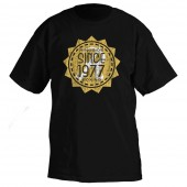 RINGSIDE SINCE 1977 T-SHIRT BLACK