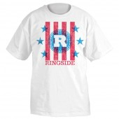 RINGSIDE RED/WHT/BLUE T-SHIRT