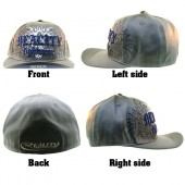 Reality FIght Wear MMA Fighting Style Hat blue