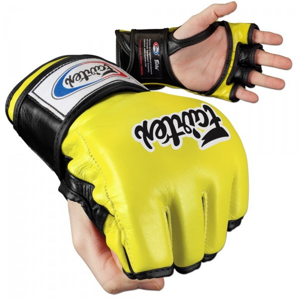 Fairtex Ultimate Combat Gloves Open Thumb Mma Fighting